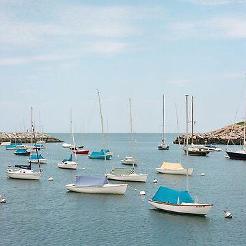 Rockport Harbor by TBM77