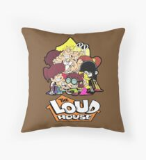 The Loud House Throw Pillow