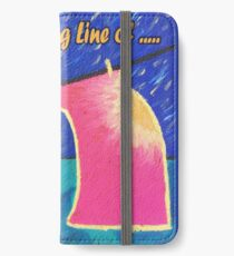 Washing line of Dreams. iPhone Wallet/Case/Skin