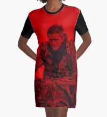 Tom Hardy (Action Pose) Graphic T-Shirt Dress