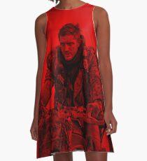 Tom Hardy (Action Pose) A-Line Dress