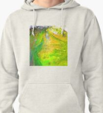 Algae ,Flying Fox Creek  Pullover Hoodie