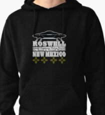 Roswell New Mexico UFO Pullover Hoodie