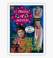 I Dream Of Jeannie censure Sticker