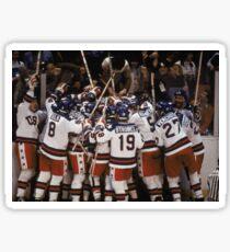 1980 USA Olympischer Sieg Sticker