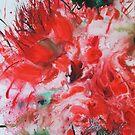Red flowering Gum by Jean Cowan