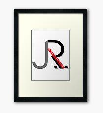 J.R. & The Allnighters Logo Framed Print