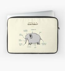 Anatomy of an Elephant Laptop Sleeve