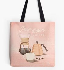 Pour Over Coffee Tote Bag