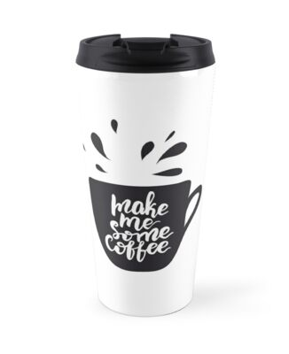 Make me some coffee Lettering Design by oigoul