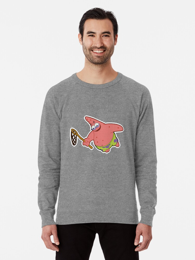 'Savage Patrick Star Meme Evil Angry Spongebob Squarepants' Lightweight  Sweatshirt by Pockying