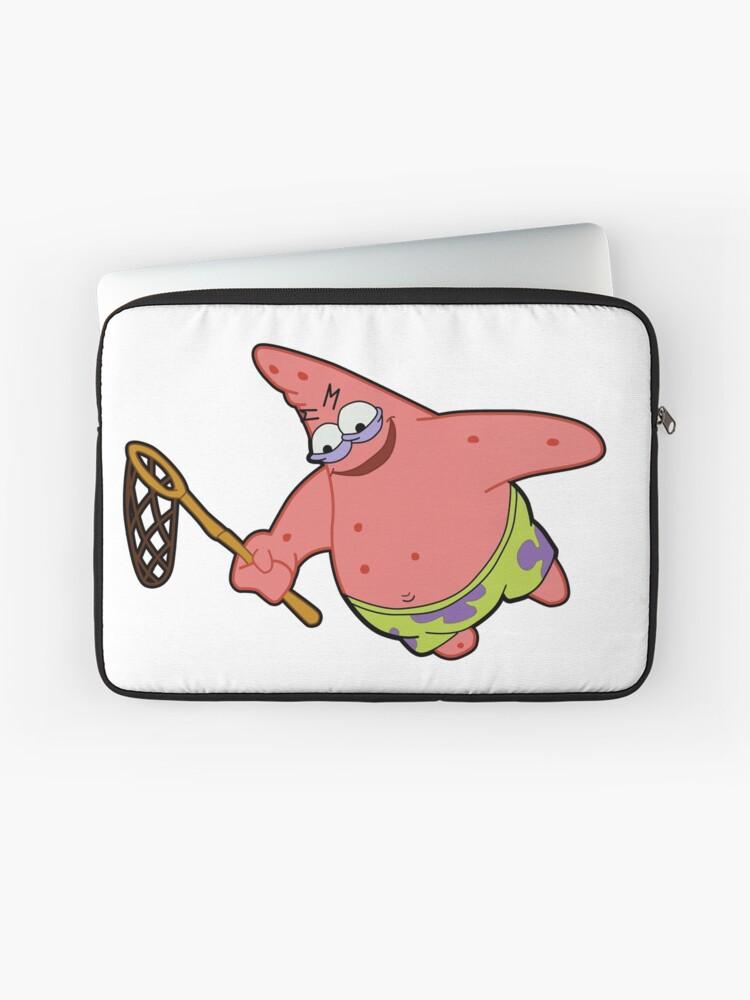 Savage Patrick Star Meme Evil Angry Spongebob Squarepants | Laptop Sleeve