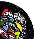 Cosmic Drop  by MariARTrujillo