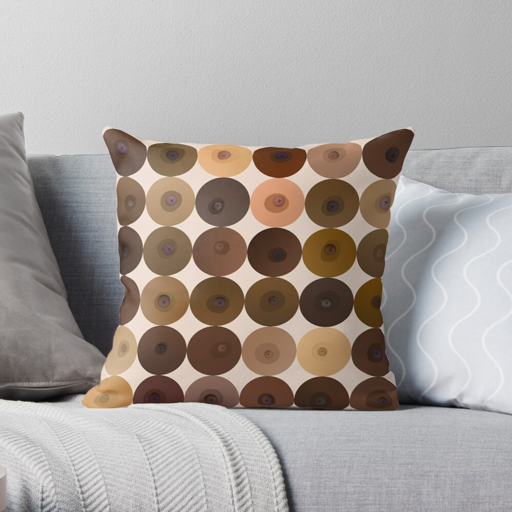 Some Friendly Nips! Throw Pillow