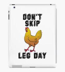 Don't Skip Leg Day iPad Case/Skin