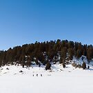 Snowshoeing in the Caldera by Mitchell Tillison
