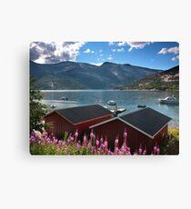 Norway scenery Canvas Print