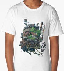 8bit Howl's Moving Castle Long T-Shirt