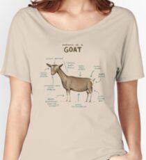 Anatomie einer Ziege Loose Fit T-Shirt