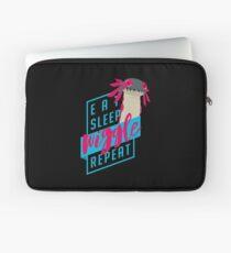 Eat. Sleep. WIGGLE. Repeat. - Monster Hunter Design Laptop Sleeve