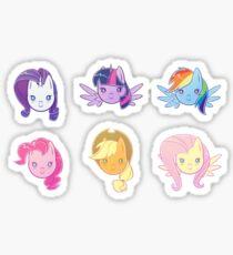 MLP - Mane 6 Sticker Pack Sticker