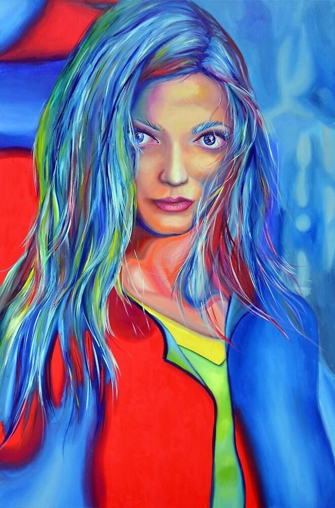 I dreamed a thousand years, 120-80 cm, 2018, oil on canvas by oanaunciuleanu