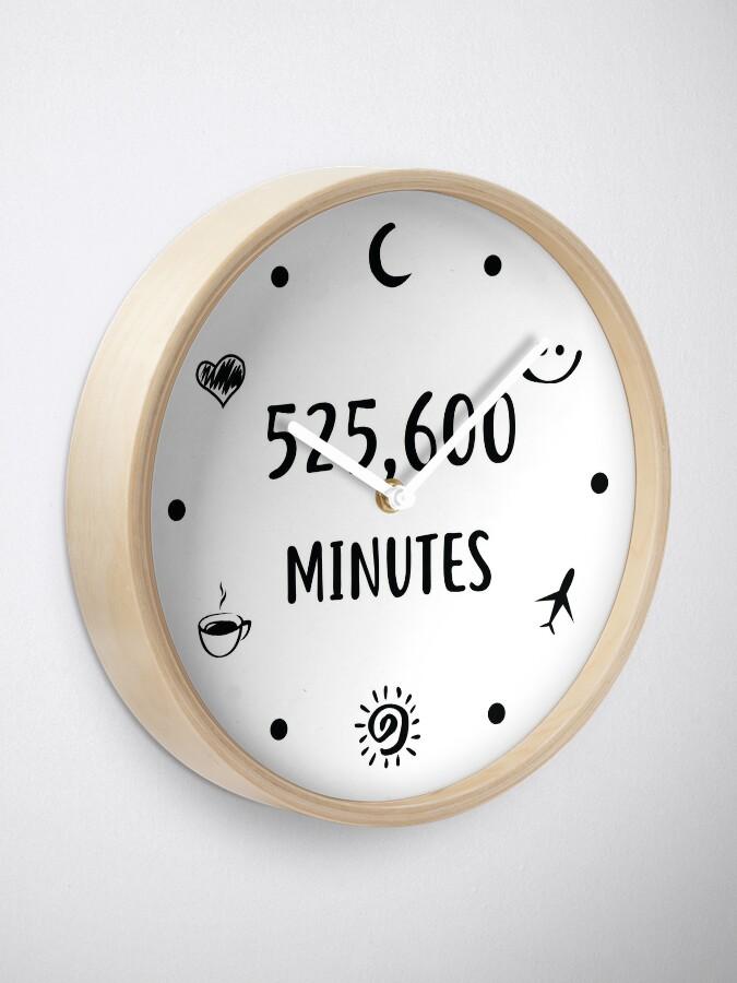 Alternate view of Measure In Love Wall Clock Clock