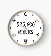 Messen Sie in Liebe Wanduhr Uhr