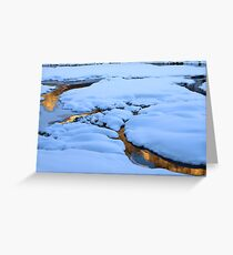 Mounds and Mirrors Greeting Card