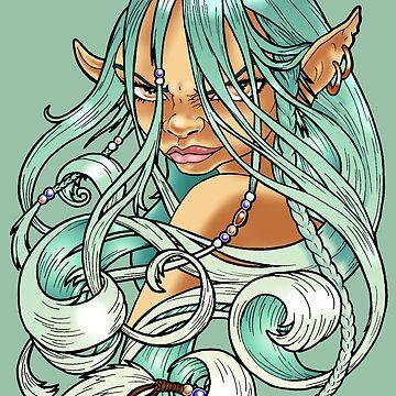 Elf Queen by Elmarie
