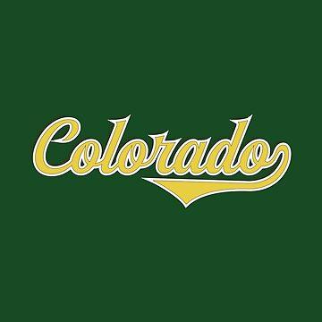 Colorado State USA - Vintage Sports Typography by Urban-Zone