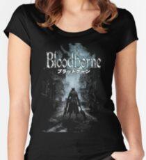 BloodBorne01 Women's Fitted Scoop T-Shirt