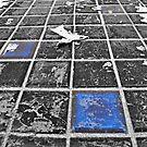 Blue Tiles from Tron by Jen Waltmon