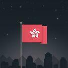 Hong Kong by FlatFlags