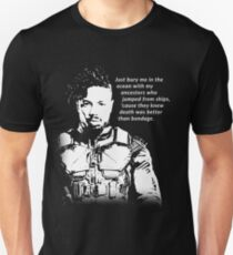 Erik Killmonger 'Bury Me' Memorable Famous Quote Unisex T-Shirt