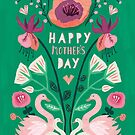 Mother's Day Card by KateMerrittshop