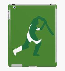 Pakistan Flag and Batsman for Cricket Team Fan iPad Case/Skin