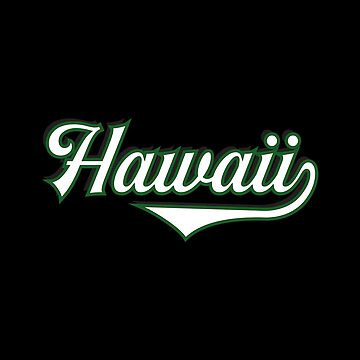Hawaii State USA - Vintage Sports Typography by Urban-Zone