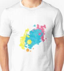 summer color splashes Unisex T-Shirt