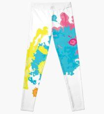 summer color splashes Leggings
