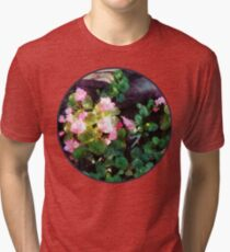 Begonias By Stone Wall Vintage T-Shirt