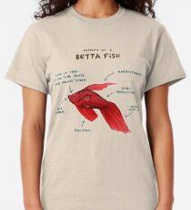 Anatomy of a Betta Fish Classic T-Shirt