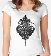 My Dark Soul Women's Fitted Scoop T-Shirt
