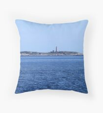 Sambro Island Light Throw Pillow