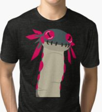 The Wiggle Worm from Monster Hunter World Tri-blend T-Shirt