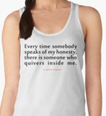 "Every time somebody...""Albert Camus"" Inspirational Quote Women's Tank Top"