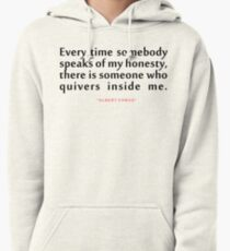 "Every time somebody...""Albert Camus"" Inspirational Quote Pullover Hoodie"