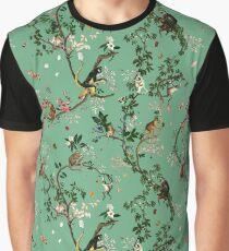 Affenwelt Grün Grafik T-Shirt