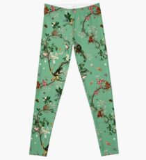 Monkey World Green Leggings