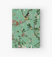 Monkey World Green Hardcover Journal